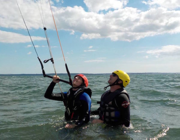 Kitesurfing Lessons in Scotland, Edinburgh, Glasgow, Fife