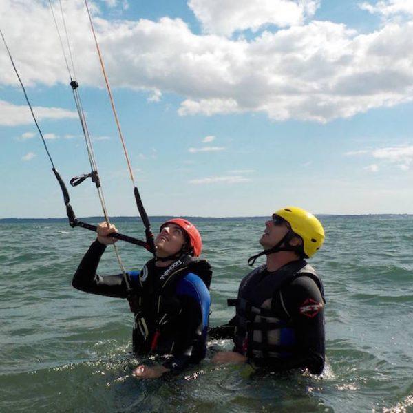 Kitesurfing Lessons in Scotland, Edinburgh, Glasgow, Fife