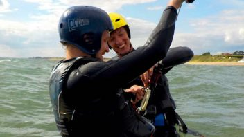 One-To-One Kitesurfing Lessons
