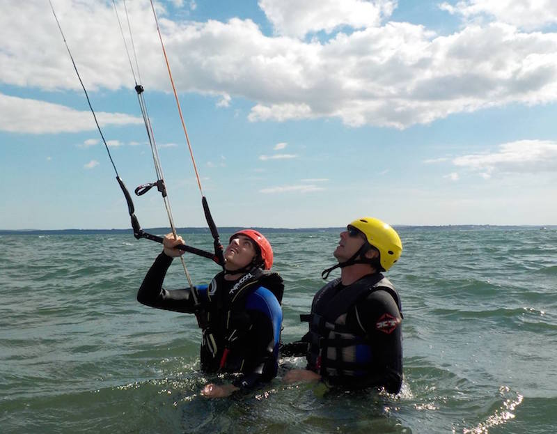 Kitesurfing Lessons Scotland - Lessons in Edinburgh, Glasgow, Troon, Fife, Dundee