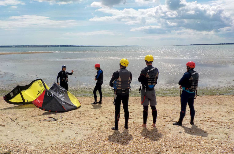 Kitesurfing Lesson School Scotland Edinburgh Glasgow Fife Dundee Troon