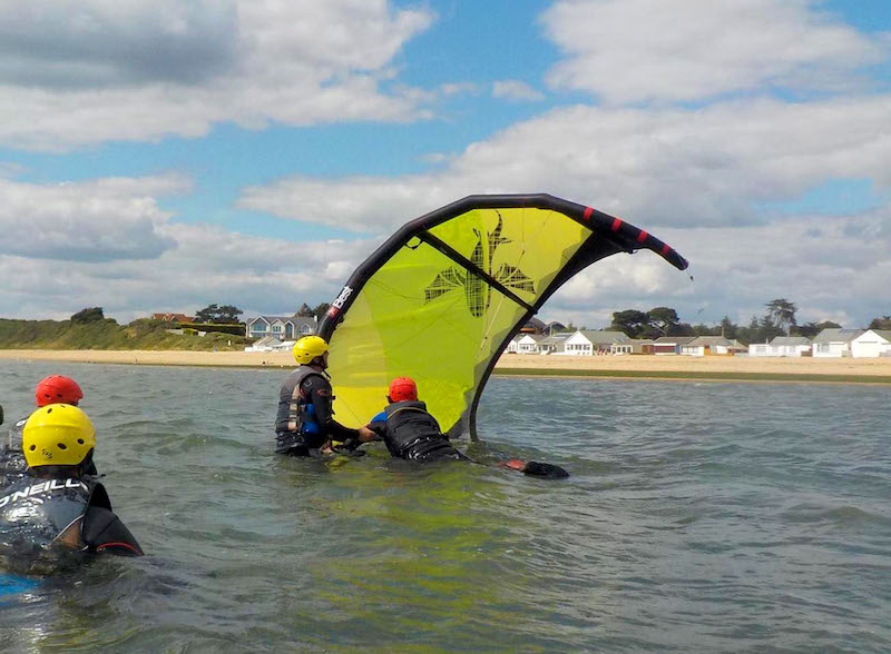 Kitesurfing Lessons School Scotland Edinburgh Glasgow Fife Dundee Troon