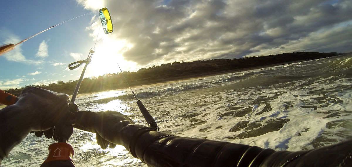 Kitesurfing Lessons School Scotland - Edinburgh, Fife, Glasgow, Aberdeen - Kitesurfing in Winter