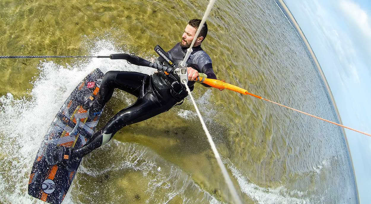 Kitesurfing Lessons in Scotland - Winter Kitesurfing - Health - Kitesurfing School Scotland Edinburgh Dundee Fife Aberdeen Glasgow