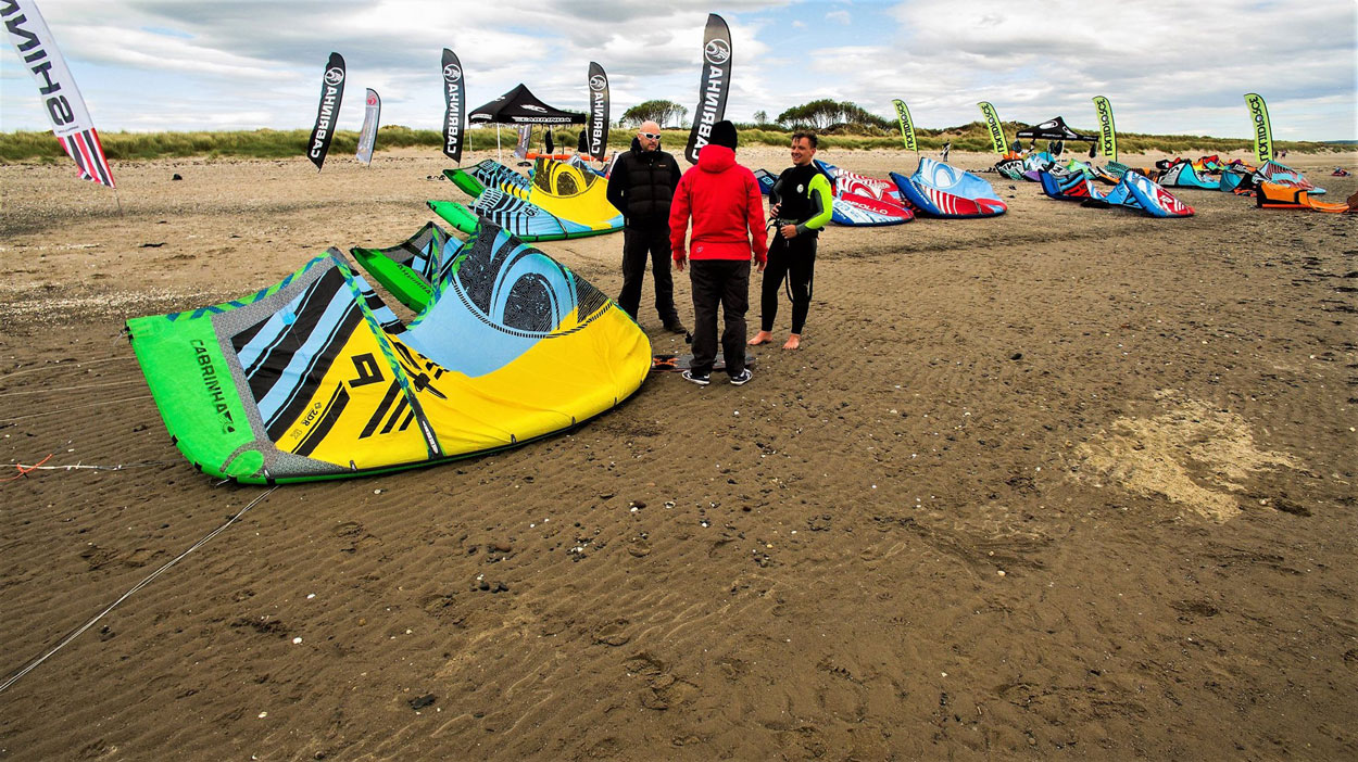 Kitesurfing Lessons Scotland - Edinburgh, Dundee, Fife, Troon, Glasgow, Aberdeen, Inverness - Sands of Luce Festival
