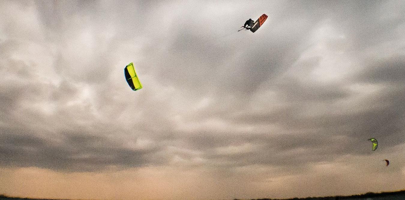 Kitesurfing Lessons in Scotland - Jake