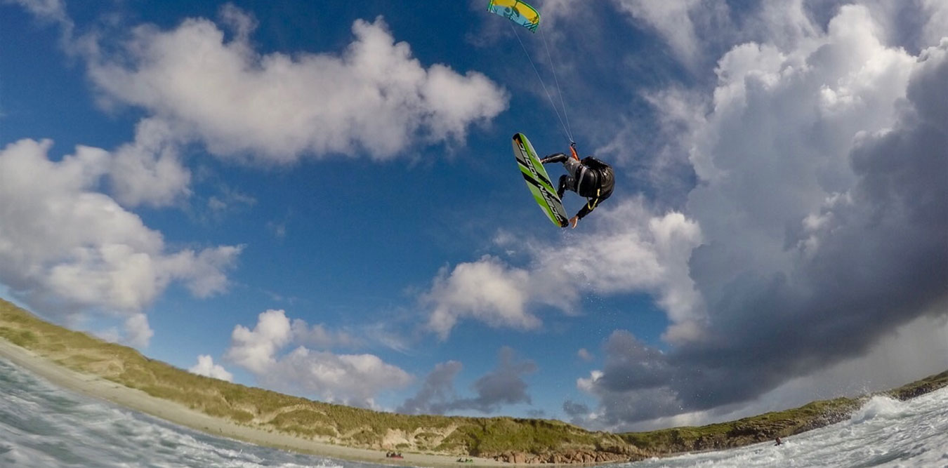 Kitesurfing Lessons in Scotland - Jake