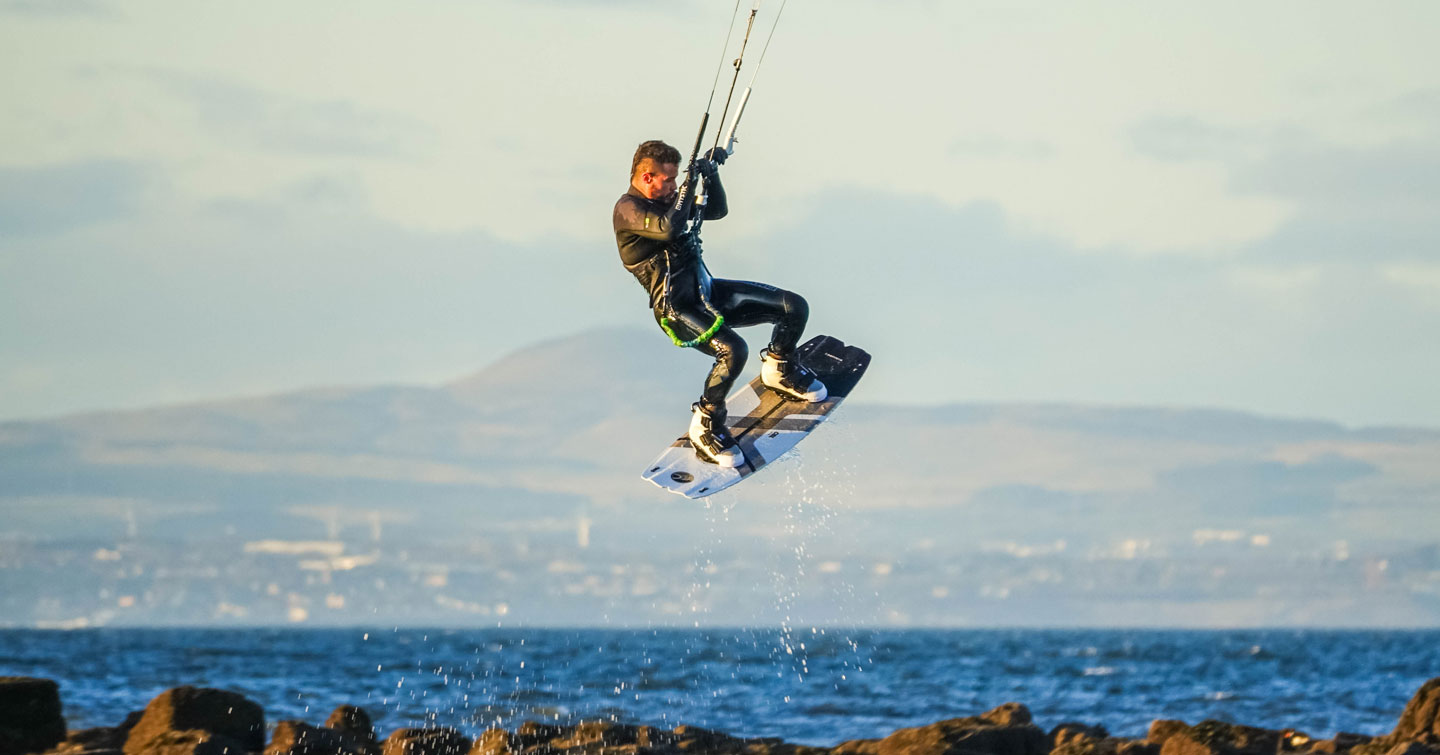 Kitesurfing Lessons Scotland Edinburgh Fife