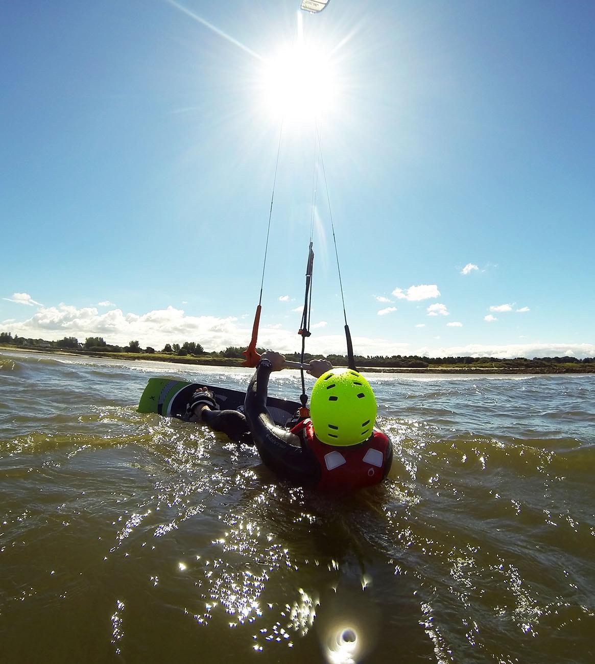 Kitesurfing School Edinburgh Glasgow Fife Kitesurfing Lessons