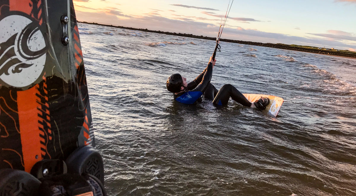 Kitesurfing lessons Scotland - Edinburgh Glasgow Dundee Aberdeen Inverness