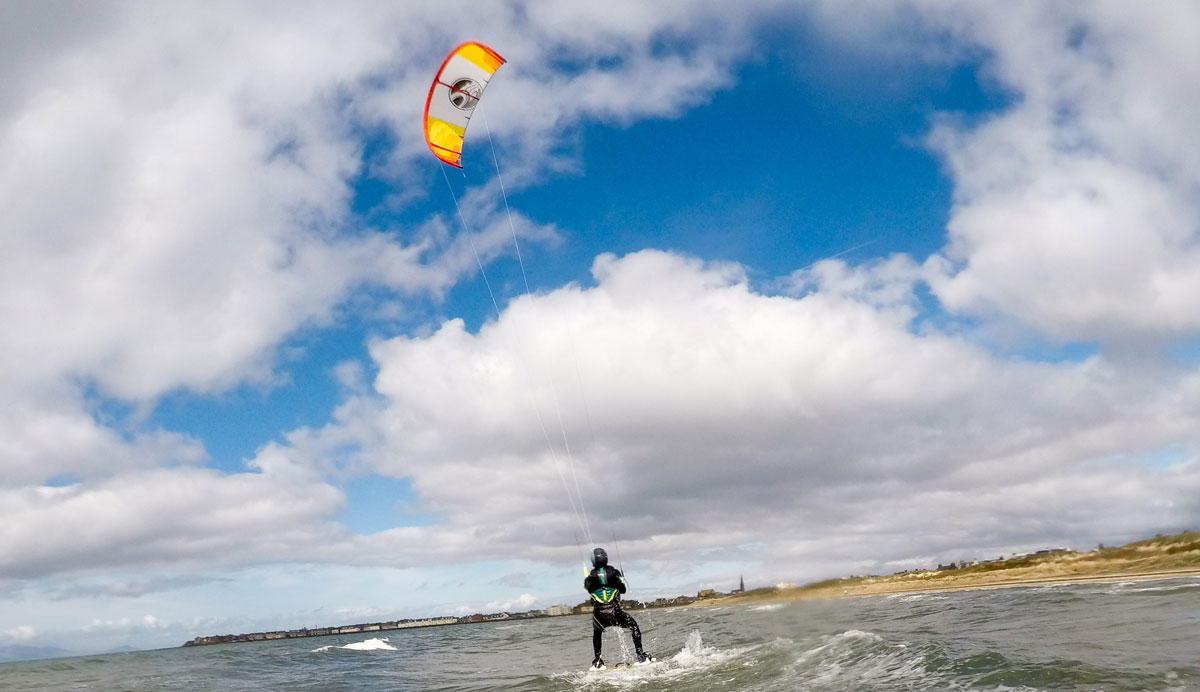 Kitesurfing Lessons Scotland - Edinburgh, Troon, Glasgow, Fife, Dundee - Tarifa Trip