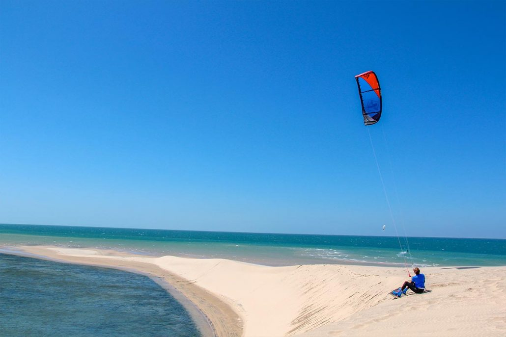 Dakhla Kitesurfing Camp Trip Holidays Villa white Dune