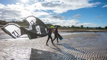 Kitesurfing Lessons Scotland - Coaching Sessions