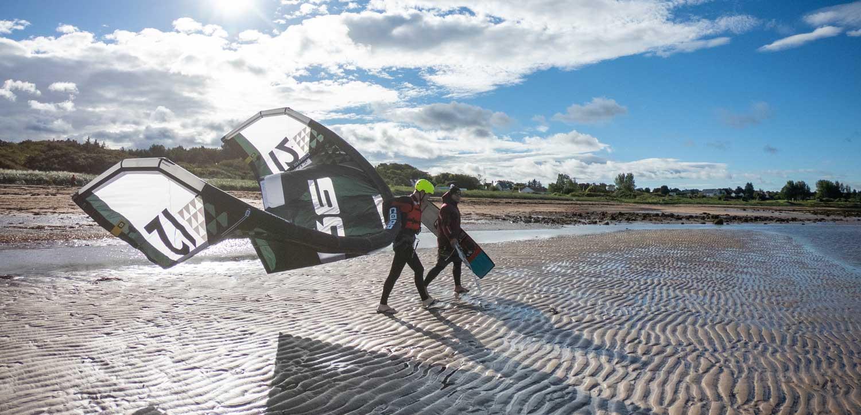 Kitesurfing Lessons Scotland - Kitesurfing Lessons Edinburgh - Kitesurfing Lessons Fife - Coaching Lessons