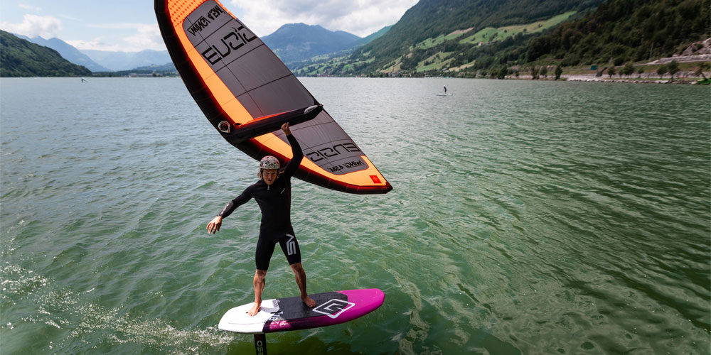 Wing Surfing Wing Foiling Lessons Scotland - Edinburgh - Wingsurf Wing SUP