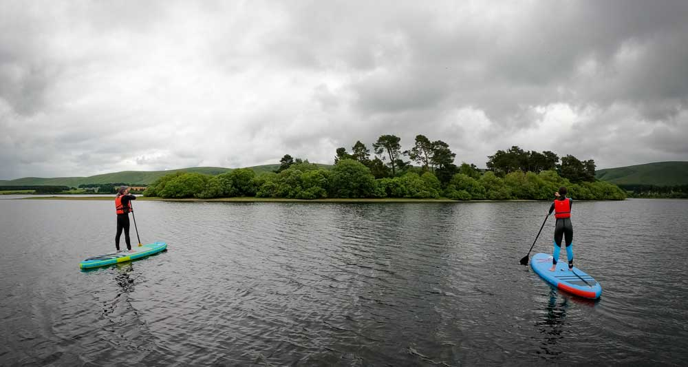 SUP Lessons Gladhouse Reservoir - SUP Lessons Edinburgh